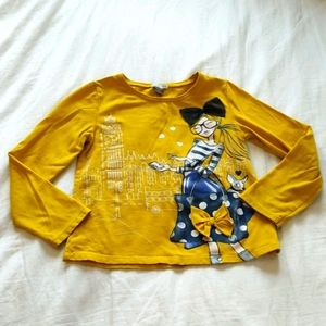 Petitlem Brand Graphic Shirt Girls Size 6
